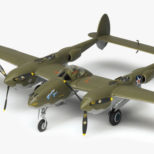[1/48] 12208 P-38F LIGHTING GLACIER GIRL