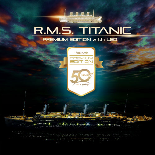 14226 R.M.S. Titanic Premium Edition with LED Units(Released Jan,2019)
